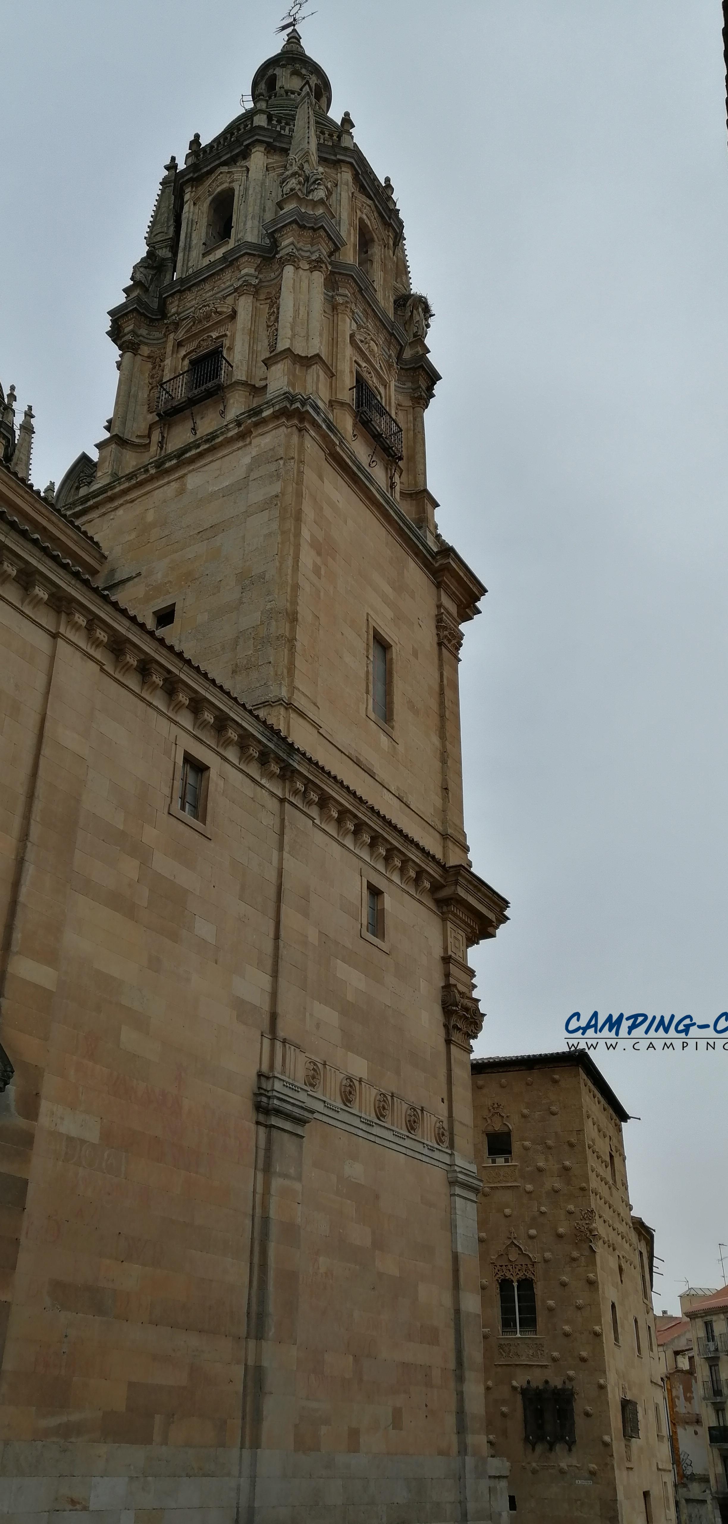 stationnement gratuit camping car Salamanca Salamanque Espagne Spain