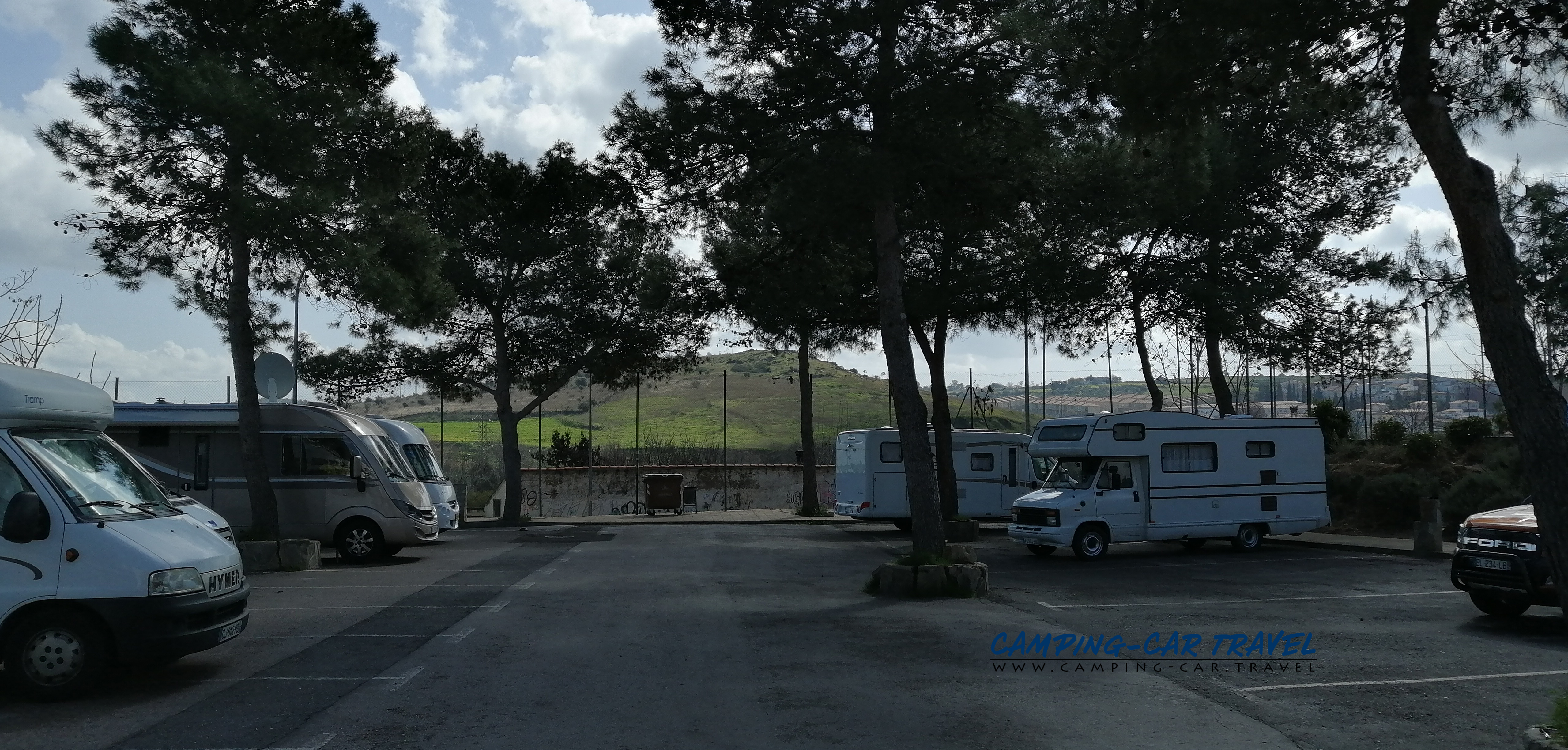 aire services camping car Caceres Espagne Spain
