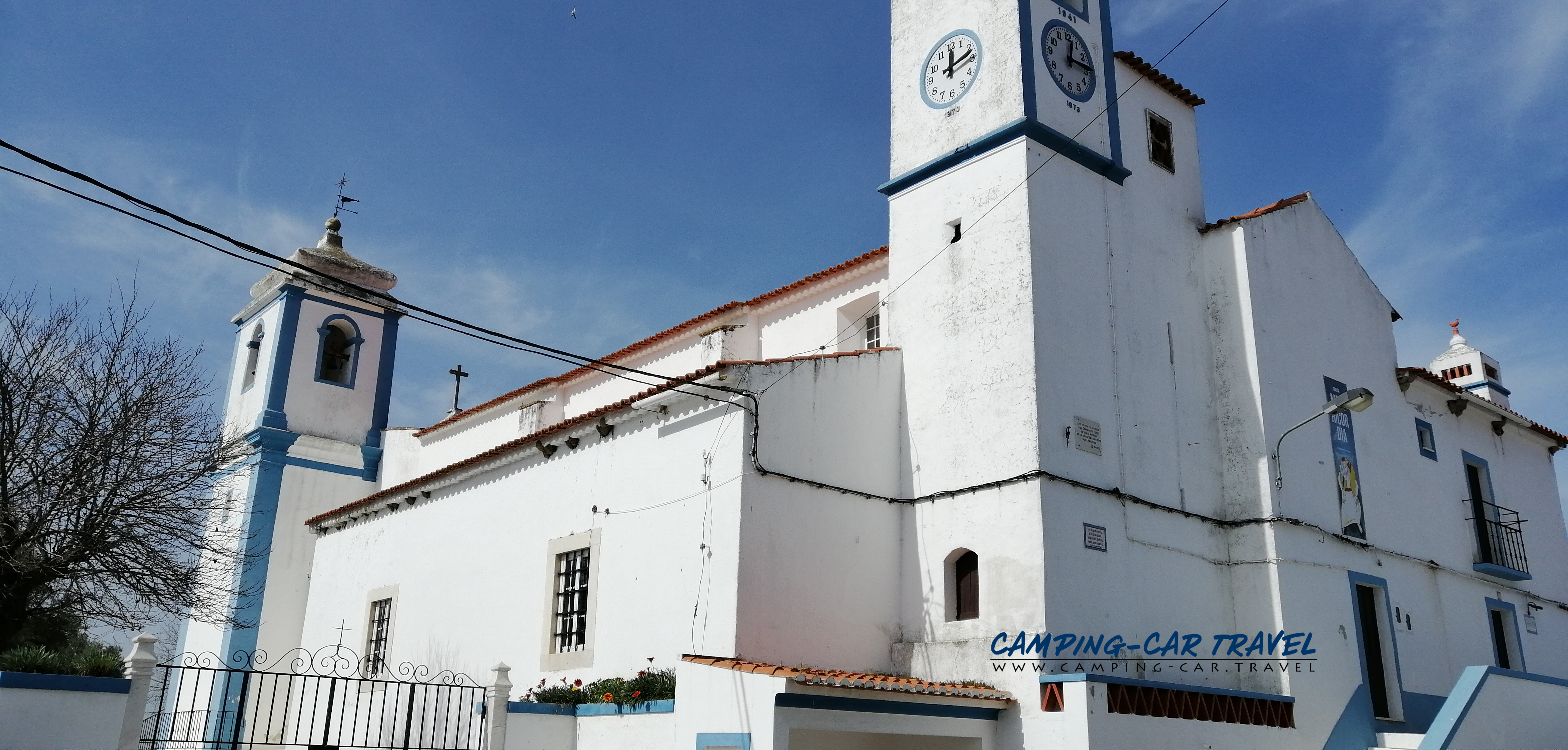 aire services camping car Terrugem Portugal