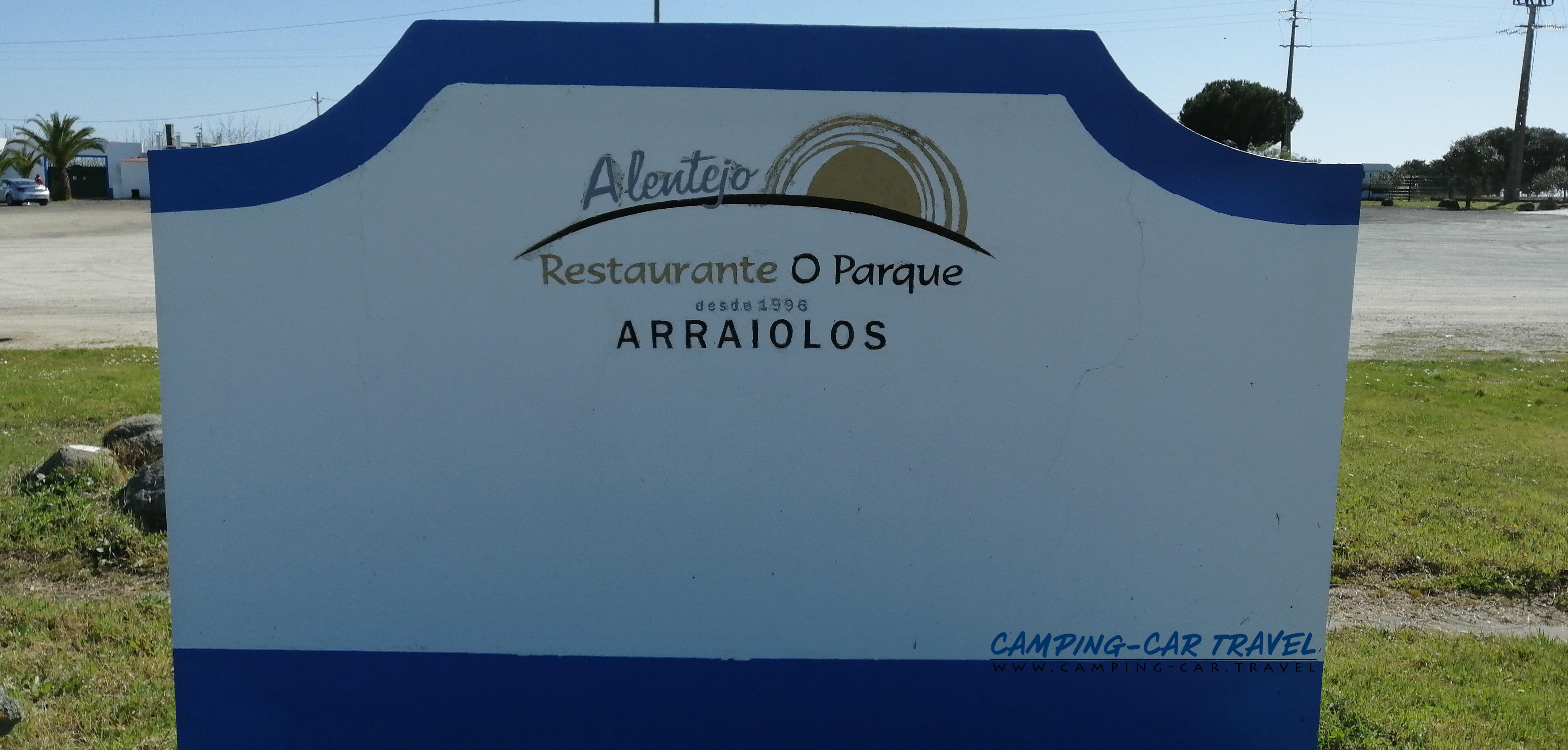 aire services camping car Arraiolos Portugal