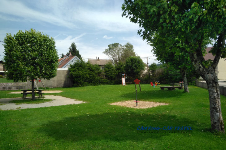 aire services camping car Mouthe Doubs Franche-Comté