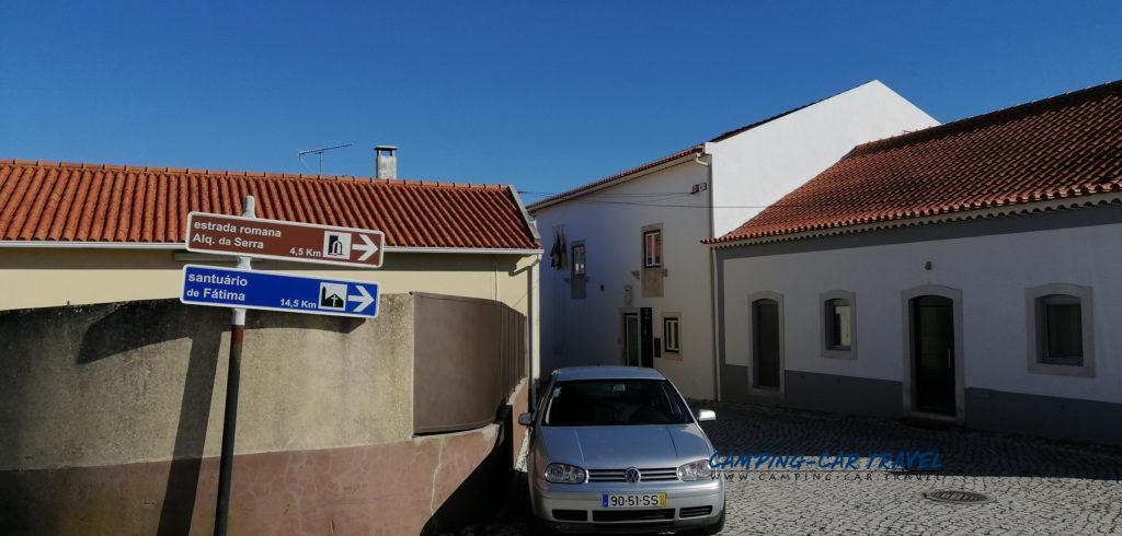aire services camping car Porto de Mos Portugal