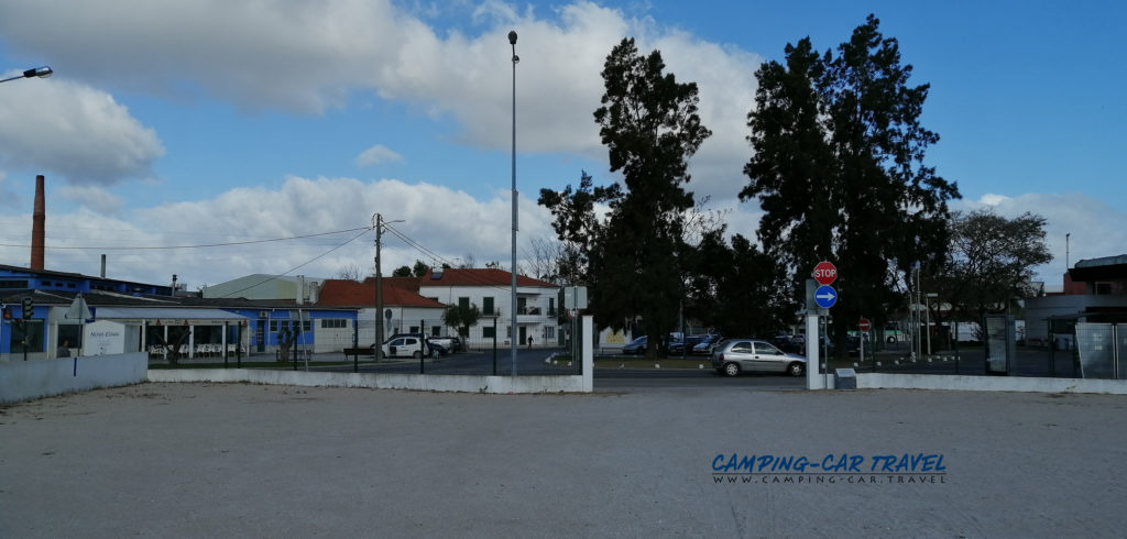 aire services camping car Salvaterra de Magos Portugal