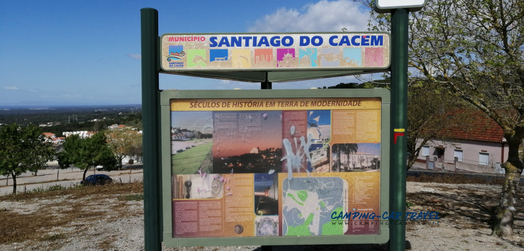 aire services camping car Santiago do Cacem Portugal