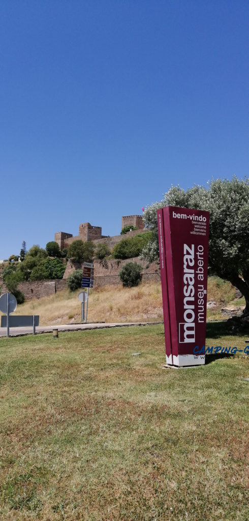 stationnement gratuit camping car monsaraz portugal