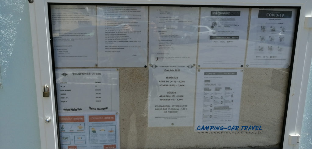 aire services camping car peso da regua pinhao portugal