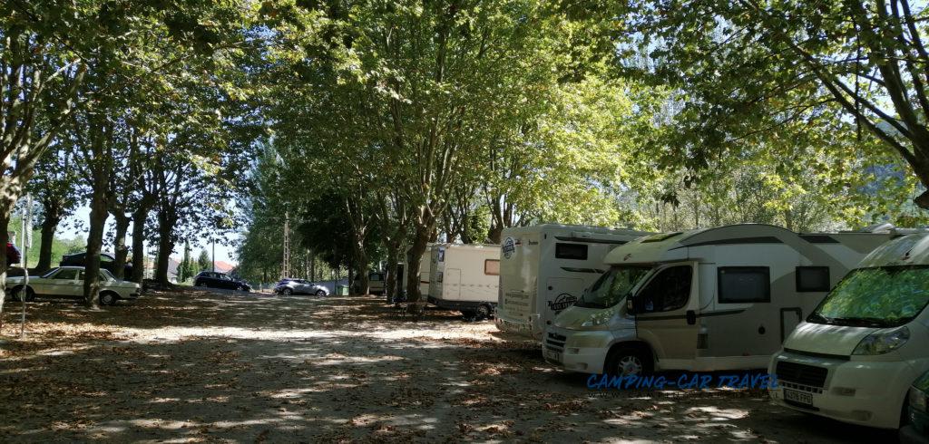 aire services camping car Ribadavia Espagne