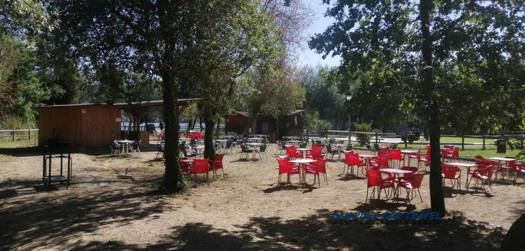aire services camping car Cenlle Espagne