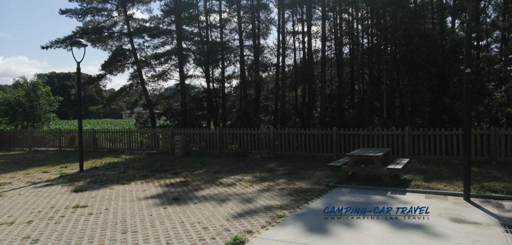 aire de services camping car castro de rei espagne galice