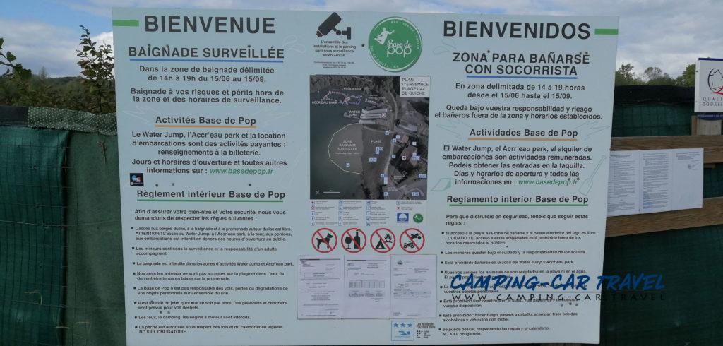 bardos aire de services pour camping car Pyrénées Atlantique France