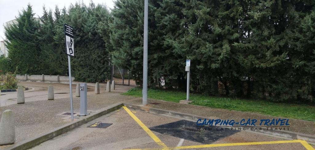 aire de services camping-cars Cascante Navarre Espagne