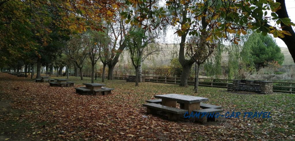aire de services camping-car Agreda Castille et Leon Espagne