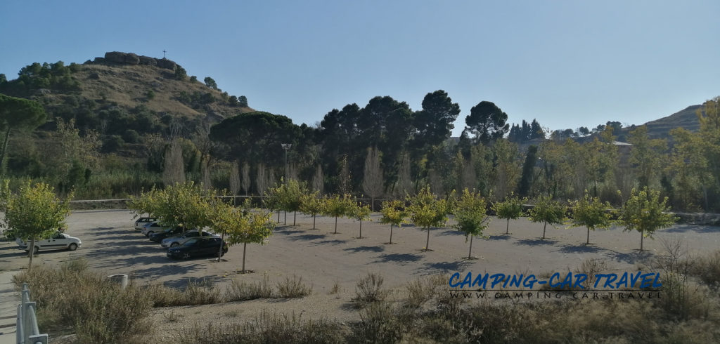 aire de services camping car Albalate del Arzobispo Aragon Espagne